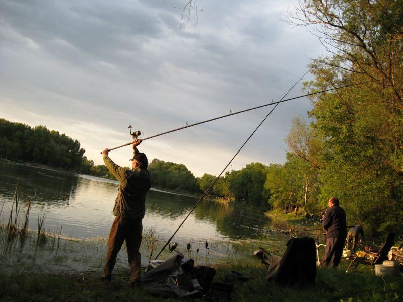 Veľké rybárske preteky Horný Čepeň, 9.5.2009