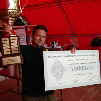 Veľké rybárske preteky Horný Čepeň 2015