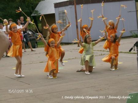 1. Detská rybárska olympiáda, Štúrovský chytrák 2011