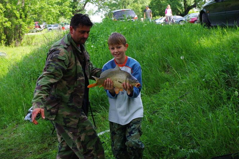 Detské rybárske preteky Horný Čepeň 2010