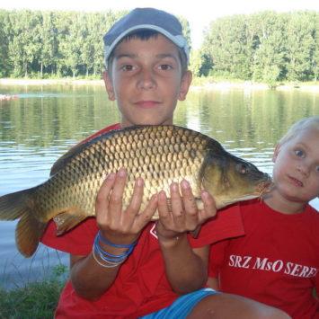 Detský rybársky tábor Šintava 2010