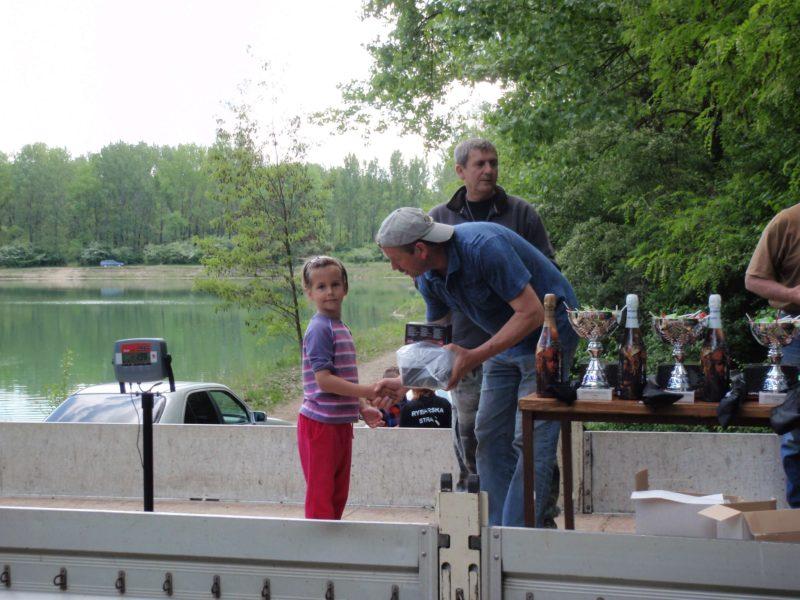 Rybárske preteky – deti, Šintava 6.5.2012