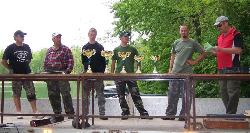 Rybárske preteky – Bagrovisko Šintava – 4.5.2013