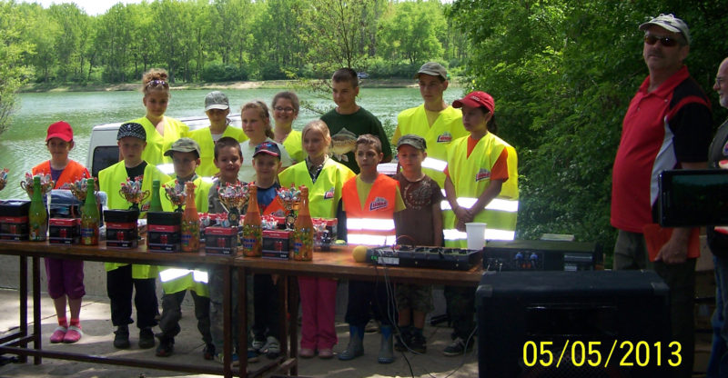 Vyhodnotenie detských rybárskych pretekov v Šintave – 5.5.2013