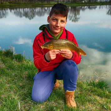 Výlov rýb udicou – Pusté Sady – 7.4.2018