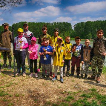 Detské preteky na bagrovisku Šintava, konané dňa 8.5.2019